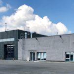 Budynek główny bazy autobusowej MZK